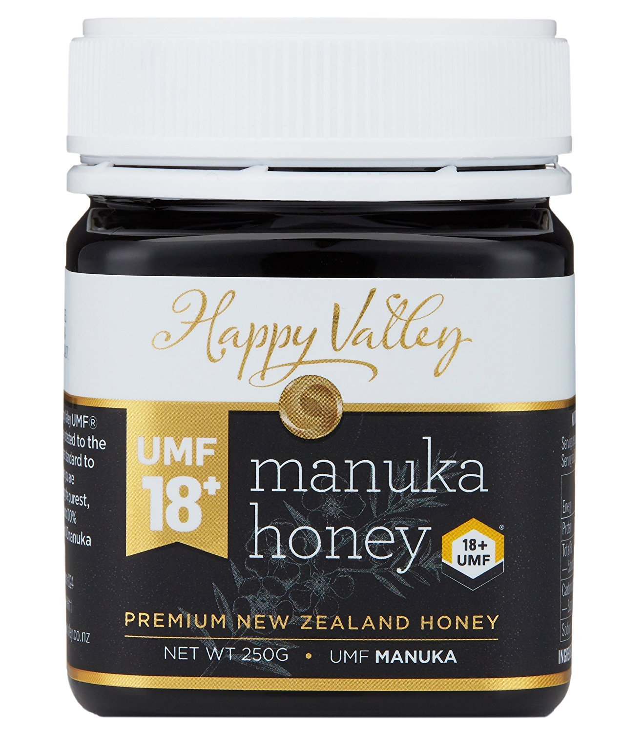 Happy Valley Manuka Honey UMF 18+