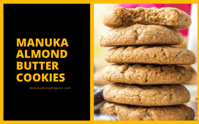 Manuka Almond Butter Cookies
